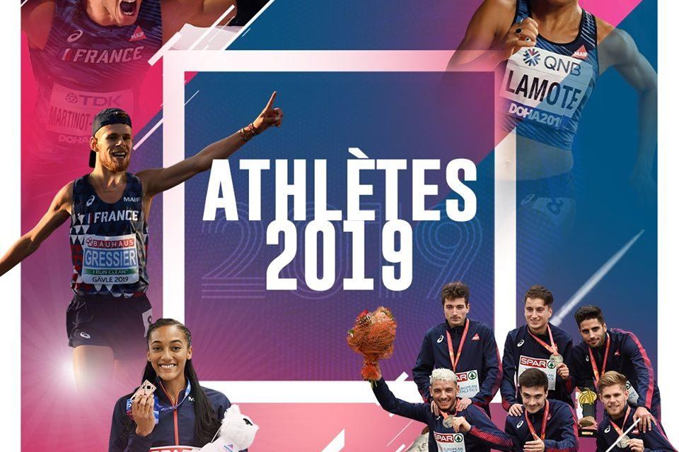Solene NDAMA et Hugo HAY athlètes de l'année FFA