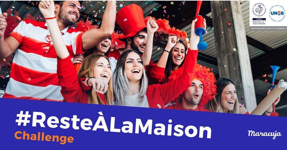 Le CROS Nouvelle-Aquitaine lance le challenge #Resteàlamaison