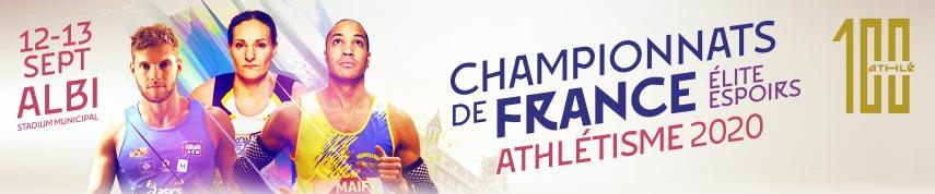 Championnats de France Elite et Espoirs: les qualifiés!