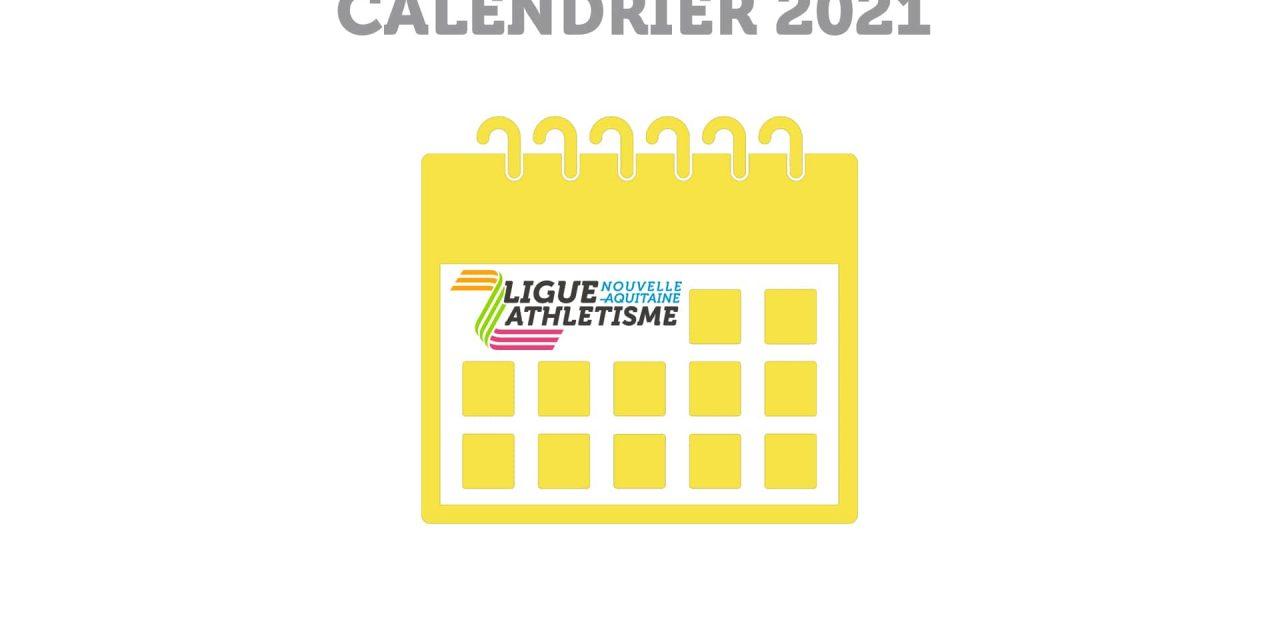 Le calendrier des compétitions pour l'hiver 2021 est sorti!