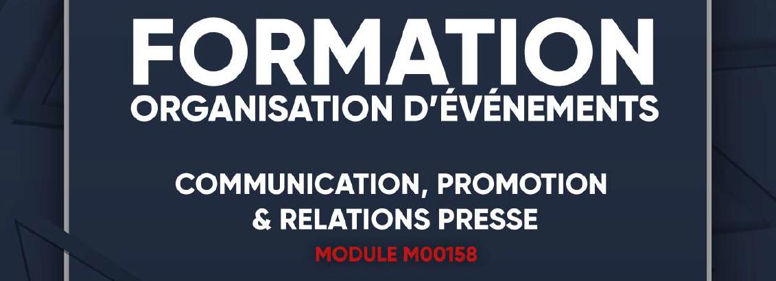 Formation : un module pour mieux communiquer sur vos événements